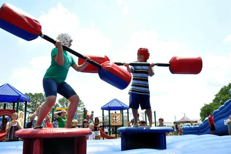teen inflatables Shark big bit surf & slide