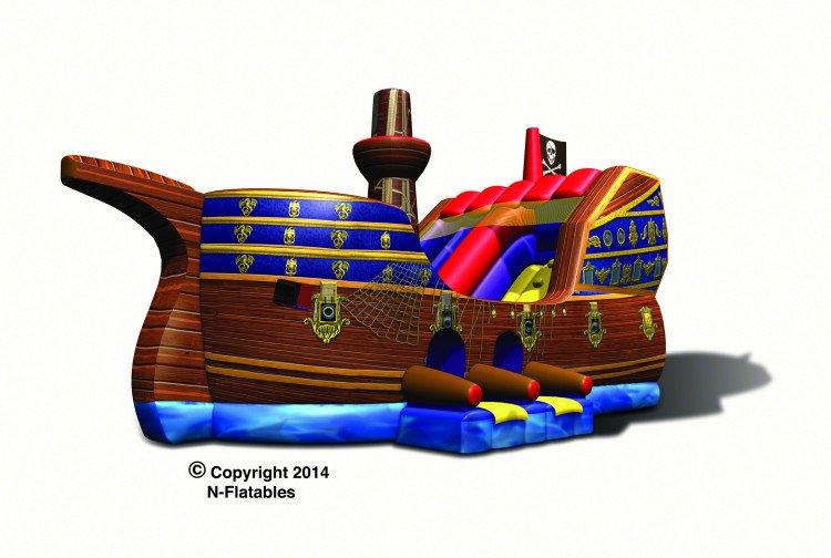 Pirate ship kid combo