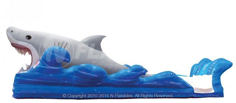Shark big bit surf & slide