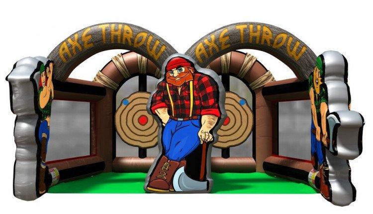 Lumberjack Axe Throw